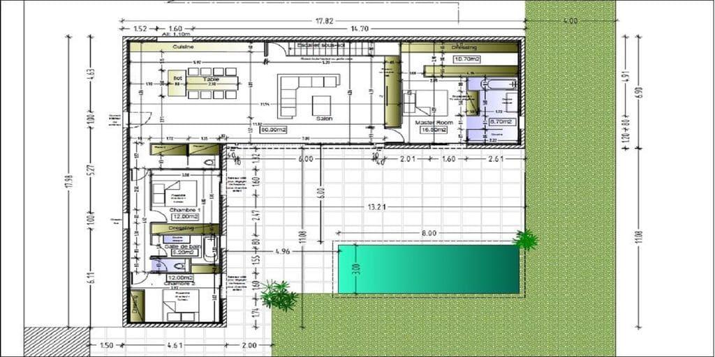 plan de rénovation de maison dans le var